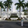The Kona Hawaii LDS Temple.